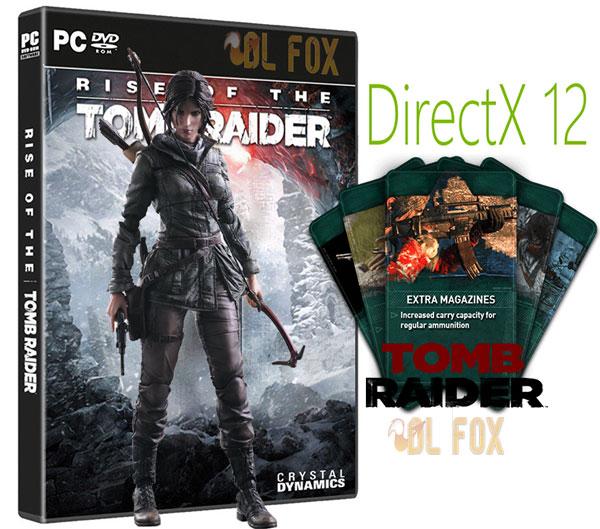 دانلود DLC + DirectX 12 بازی Rise of The Tomb Raider برای PC