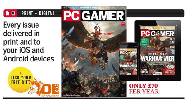 دانلود مجله PC Gamer UK – May 2016