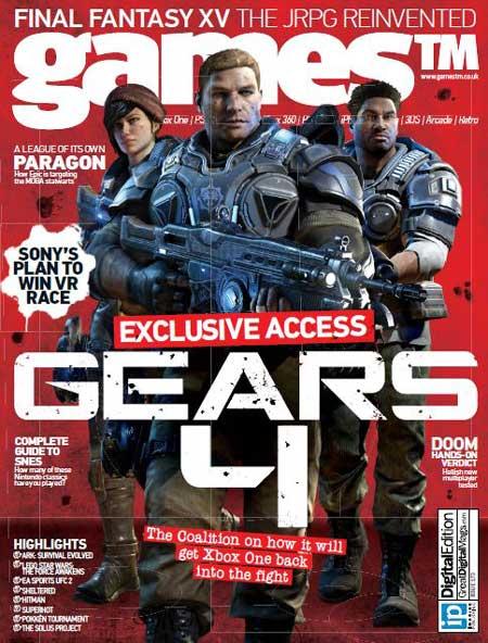 دانلود مجله gamesTM – Issue 173 2016
