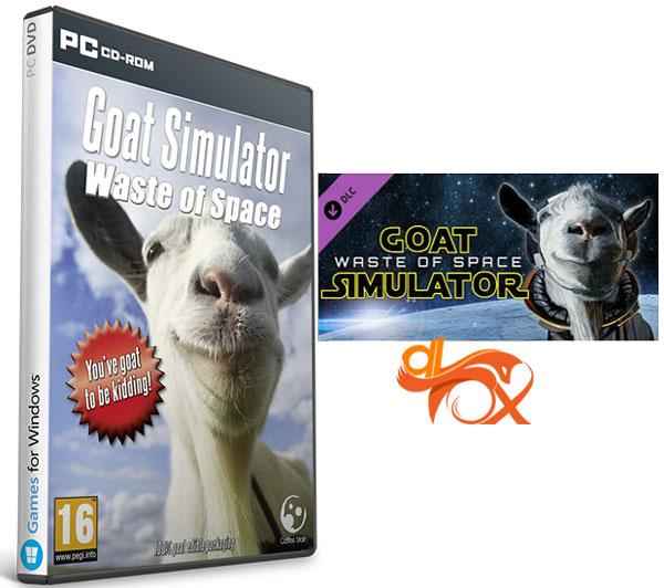 دانلود نسخه فشرده بازی GOAT SIMULATOR WASTE OF SPACE برای PC