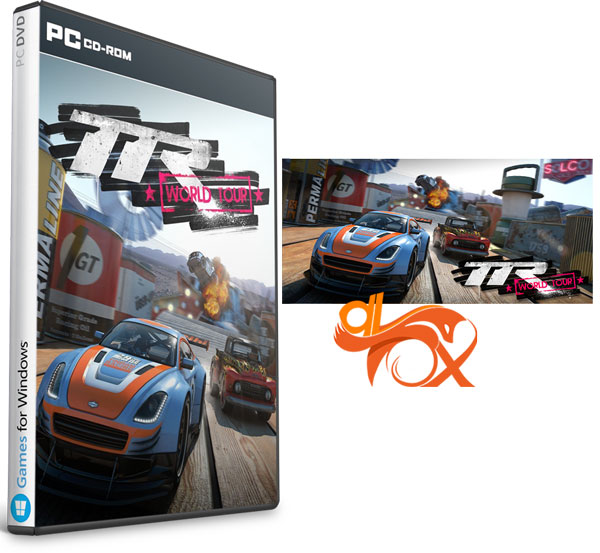 دانلود بازی TABLE TOP RACING WORLD TOUR برای PC