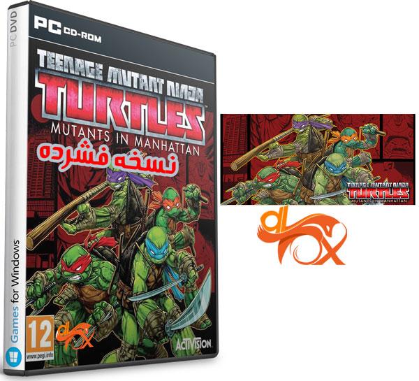 دانلود نسخه فشرده بازی Teenage Mutant Ninja Turtles برای PC