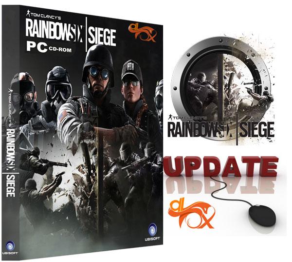 دانلود آپدیت بازی Rainbow Six Siege برای PC