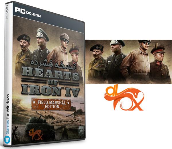 دانلود نسخه فشرده بازی Hearts of Iron 4: Field Marshal Edition برای PC