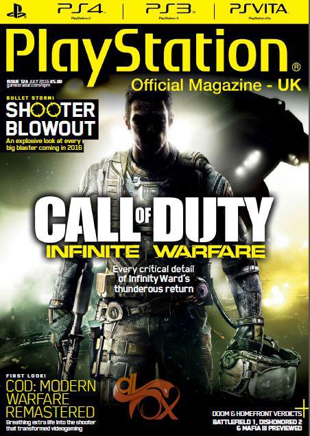 دانلود مجله PlayStation Official Magazine UK – July 2016