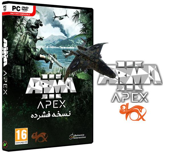 دانلود نسخه فشرده بازی Arma 3 + All DLCs + Bonus + Apex Edition برای PC