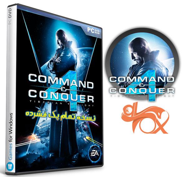 دانلود نسخه فشرده بازی Command & Conquer 4 برای PC