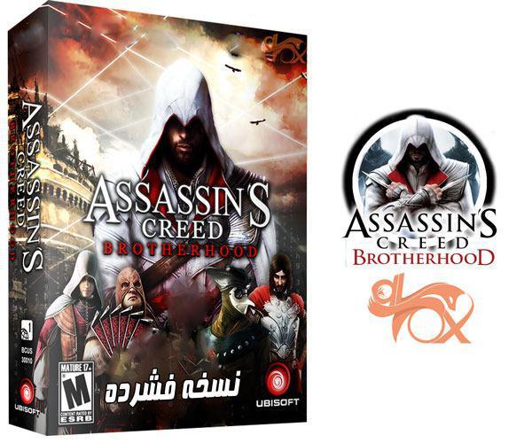 دانلود نسخه فشرده بازی Assassins Creed Brother Hood برای PC