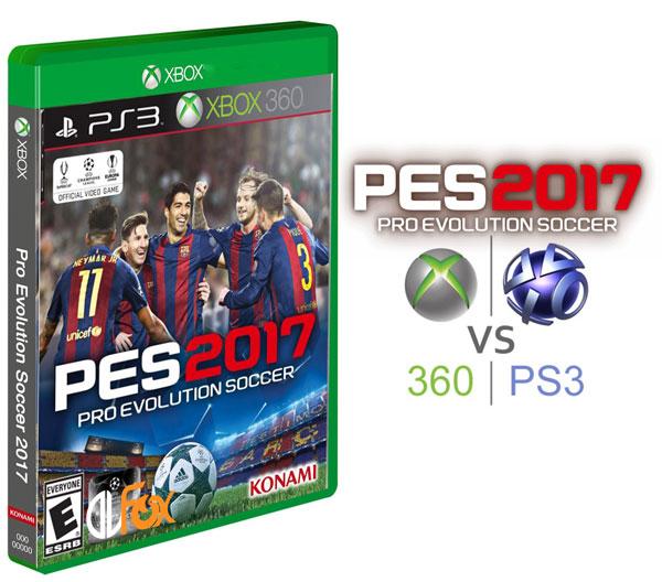 دانلود بازی Pro Evolution Soccer 2017 برای XBOX360 و PS3