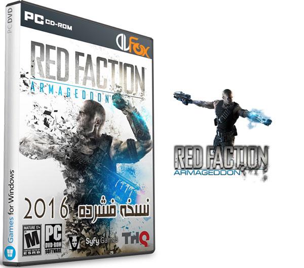 دانلود نسخه فشرده بازی Red Faction Armageddon Complete  برای PC