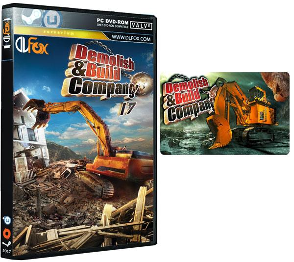 دانلود نسخه فشرده بازی DEMOLISH AND BUILD COMPANY 2017 برای PC