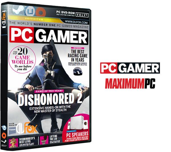 دانلود مجله PC Gamer UK – December 2016