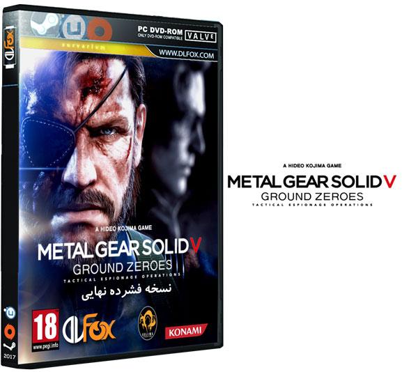 دانلود نسخه فشرده FitGirl بازی Metal Gear Solid V: Ground Zeroes برای PC