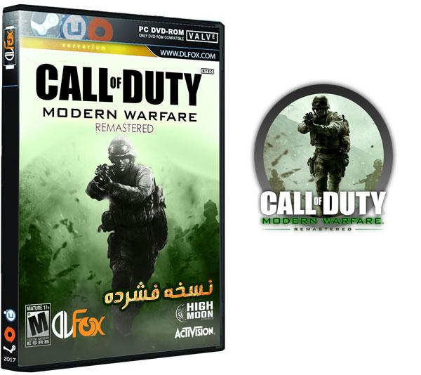 دانلود نسخه فشرده بازی Call of Duty: Modern Warfare Remastered برای PC