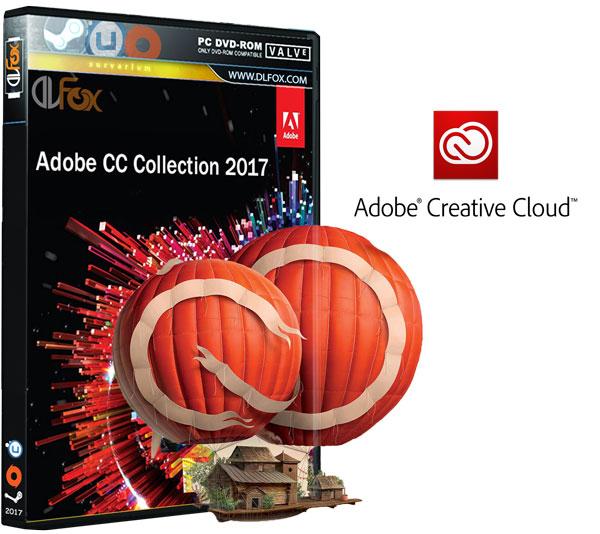 دانلود کالکشن Adobe Creative Cloud Collection CC 2017