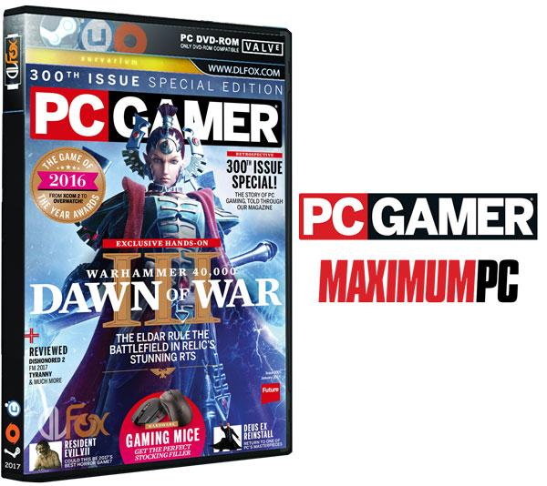 دانلود مجله PC Gamer UK – January 2017
