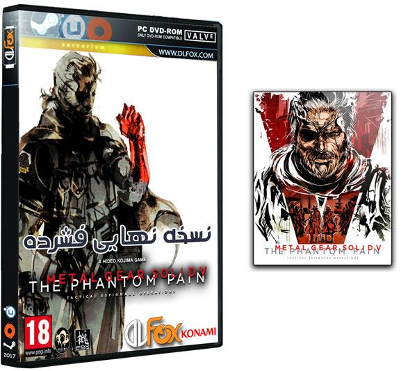 دانلود نسخه فشرده بازی Metal Gear Solid V: The Phantom Pain برای PC