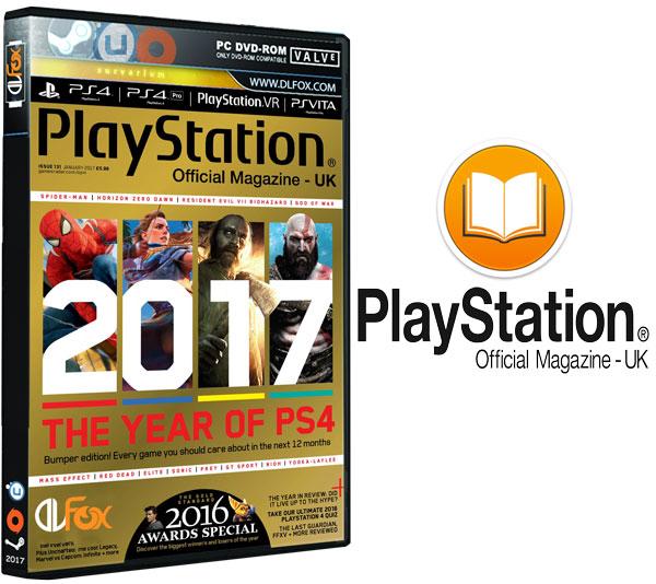دانلود مجله PlayStation Official Magazine UK – January 2017
