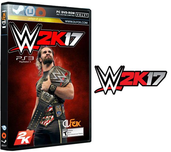 دانلود بازی WWE 2K17 برای پلتفرم PS3