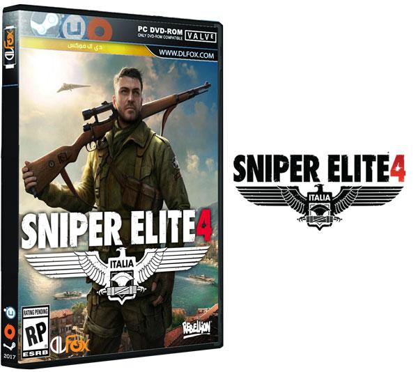 دانلود بازی SNIPER ELITE 4 DELUXE EDITION برای PC