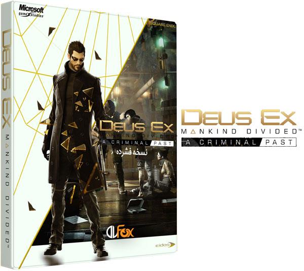 دانلود نسخه فشرده بازی Deus Ex: Mankind Divided – Digital Deluxe Edition برای PC