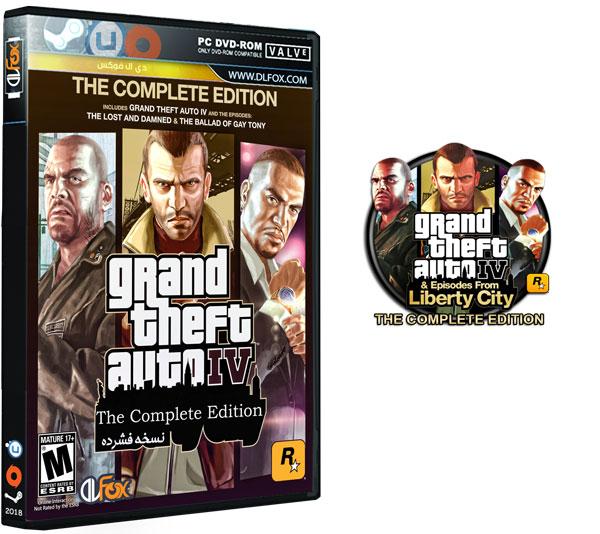 دانلود نسخه فشرده بازی G.T.A IV:THE COMPLETE EDITION برای PC