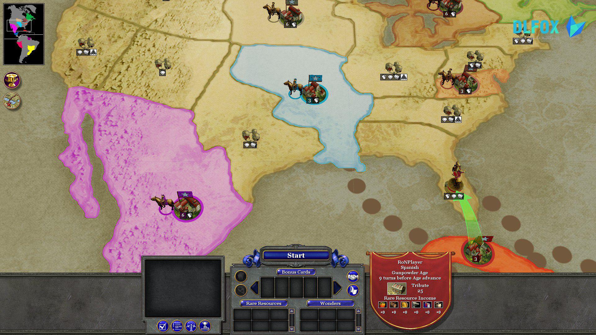 دانلود نسخه فشرده بازی Rise of Nations: Extended Edition برای PC