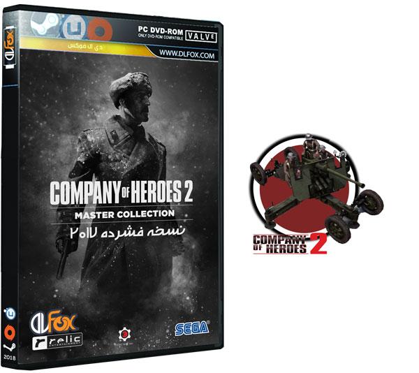 دانلود نسخه فشرده بازی Company of Heroes 2: Master Collection برای PC