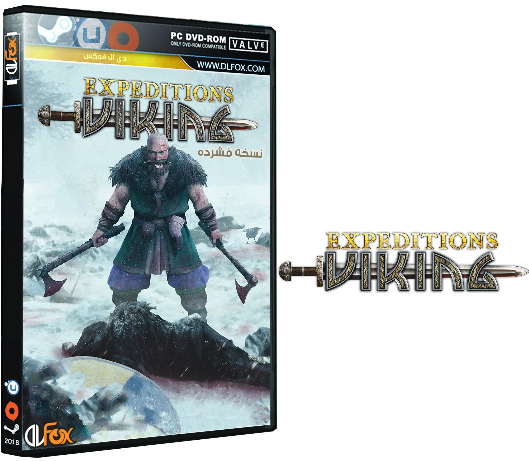 دانلود نسخه فشرده FitGirl بازی Expeditions: Viking برای PC