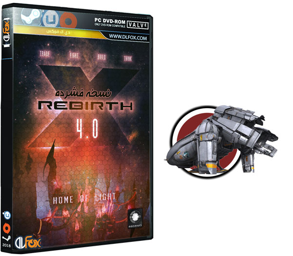 دانلود نسخه فشرده CorePack بازی X Rebirth v4.10 برای PC