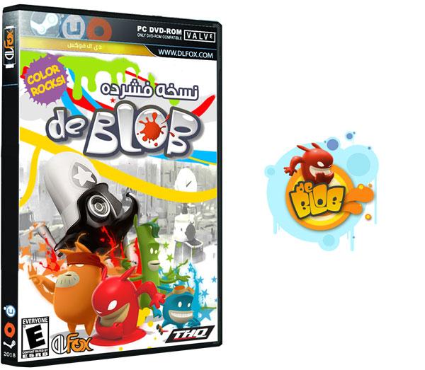 دانلود نسخه فشرده بازی de Blob برای PC