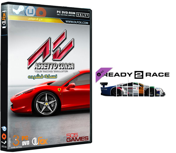 دانلود نسخه فشرده FitGirl بازی Assetto Corsa – Ready To Race Pack برای PC
