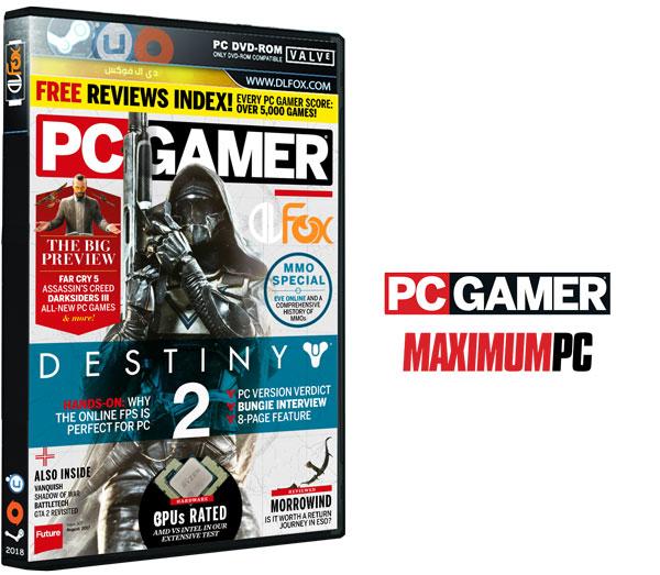 دانلود مجله PC Gamer UK – August 2017