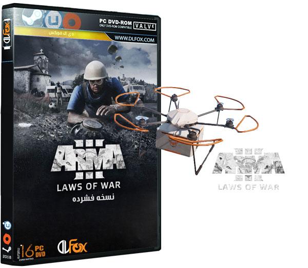 دانلود نسخه فشرده بازی Arma 3 Laws of War برای PC