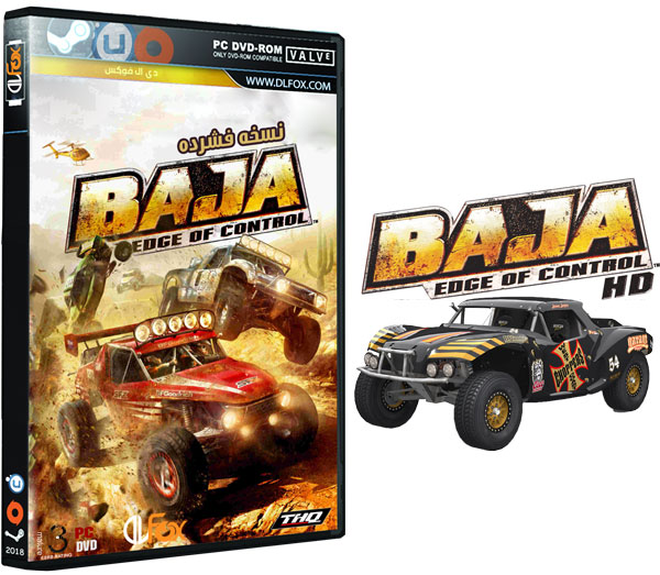 دانلود نسخه فشرده بازی BAJA : Edge Of Control HD برای PC