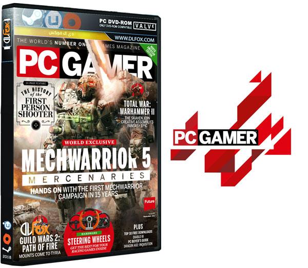 دانلود مجله PC Gamer USA – Issue 297 – November 2017