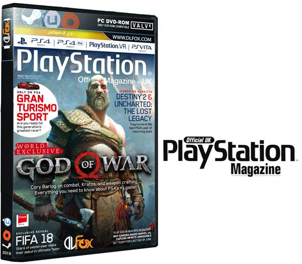 دانلود مجله PlayStation Official Magazine UK – October 2017