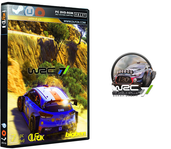 دانلود نسخه فشرده بازی WRC 7 FIA World Rally Championship برای PC