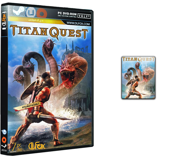 دانلود نسخه فشرده CorePack بازی Titan Quest Anniversary Edition برای PC