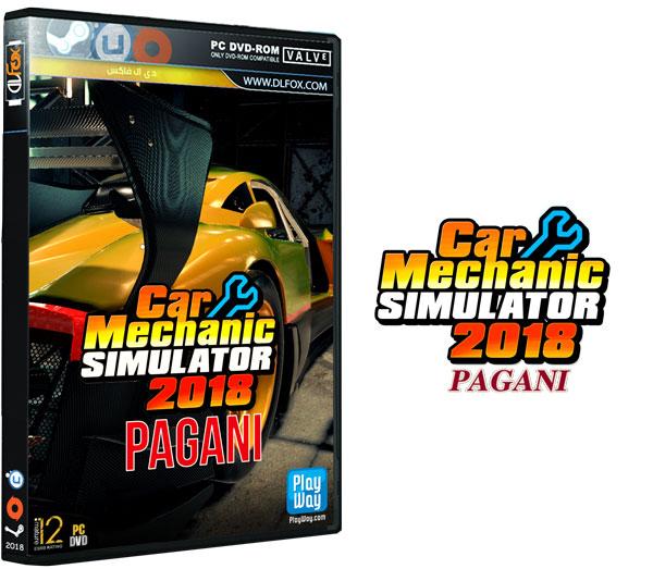 دانلود نسخه فشرده بازی Car Mechanic Simulator 2018 – Pagani DLC برای PC