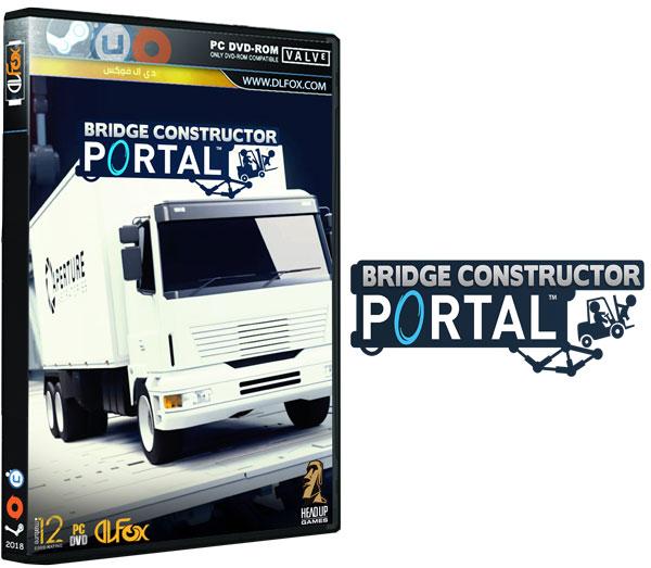 دانلود نسخه فشرده بازی Bridge Constructor Portal برای PC