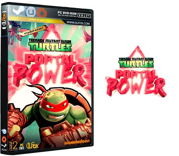 دانلود نسخه فشرده بازی Teenage Mutant Ninja Turtles: Portal Power برای PC