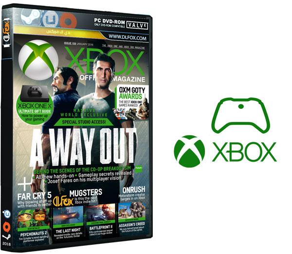 دانلود مجله Xbox: The Official Magazine UK – January 2018