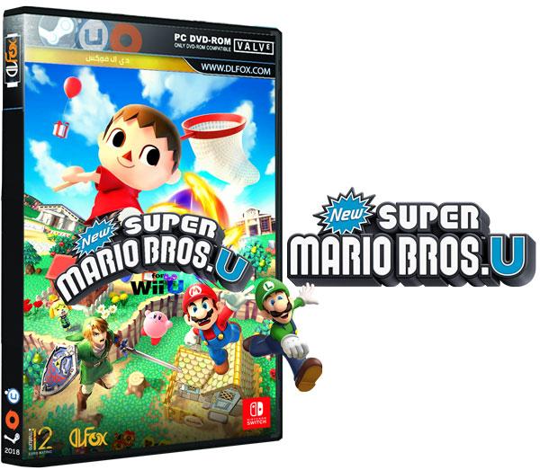 دانلود نسخه فشرده بازی New Super Mario Bros. U برای PC