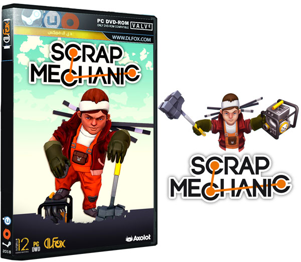دانلود نسخه فشرده بازی Scrap Mechanic برای PC