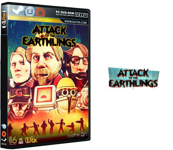 دانلود نسخه فشرده بازی Attack of the Earthlings برای PC