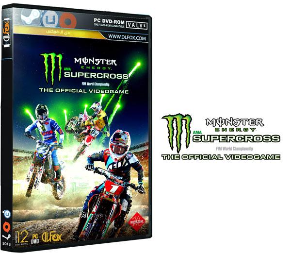 دانلود نسخه فشرده Monster Energy Supercross – The Official Videogame برای PC
