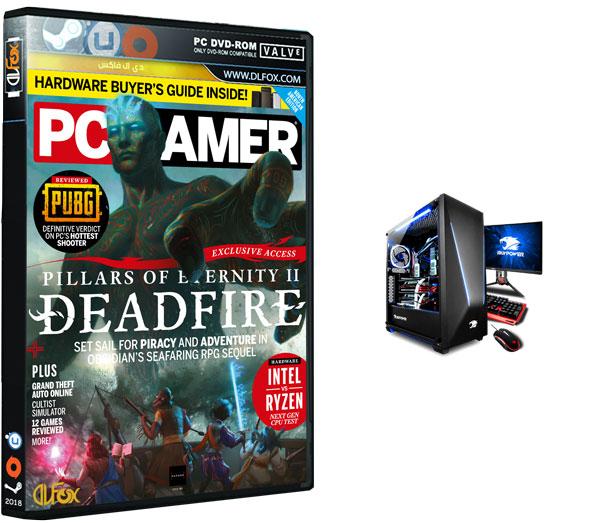 دانلود مجله PC Gamer USA – April 2018