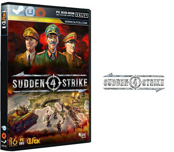دانلود نسخه فشرده CorePack بازی Sudden Strike 4 برای PC
