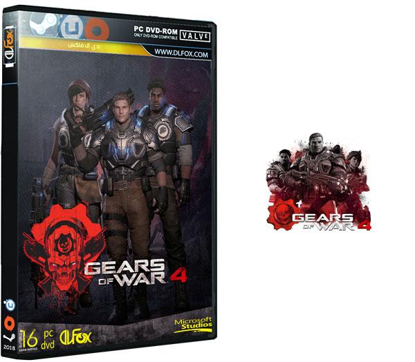دانلود نسخه STORE بازی Gears Of War 4 برای PC